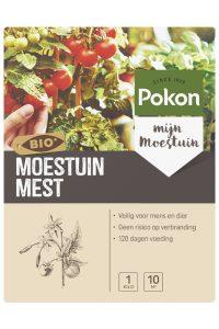 Pokon Bio Moestuin Voeding 1kg.