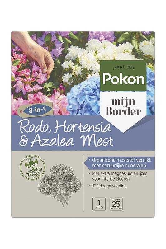 Pokon Hortensia, Rhododendron & Azalea Mest 1kg