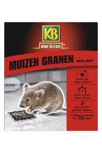 KB muizen granen (zwart) met lokstation