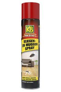 KB vliegen en muggenspray