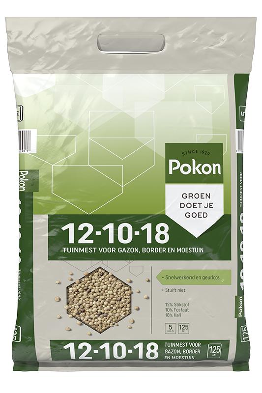 Pokon Gazon- en Tuinmest 5kg.