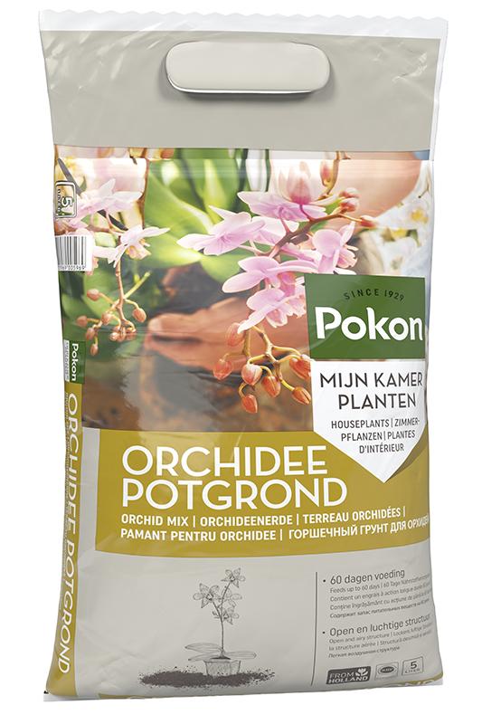 Pokon Orchidee grond 5ltr.