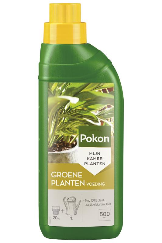 Pokon groene kamerplanten voeding 500 ml.