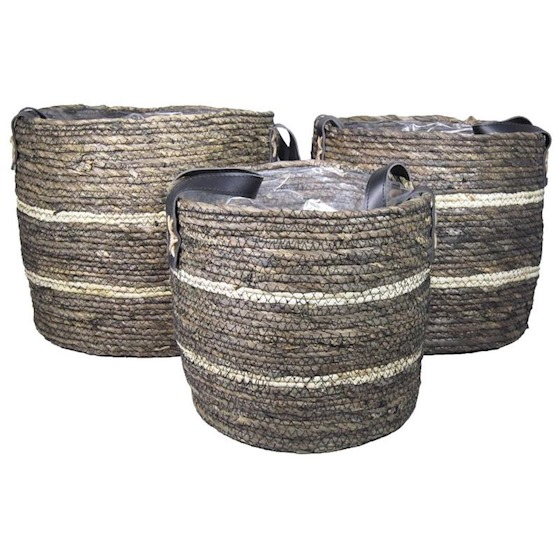 Basket Ambon Black 36x32CM