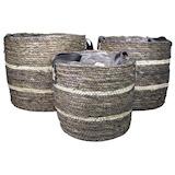 Basket Ambon black 32x28CM