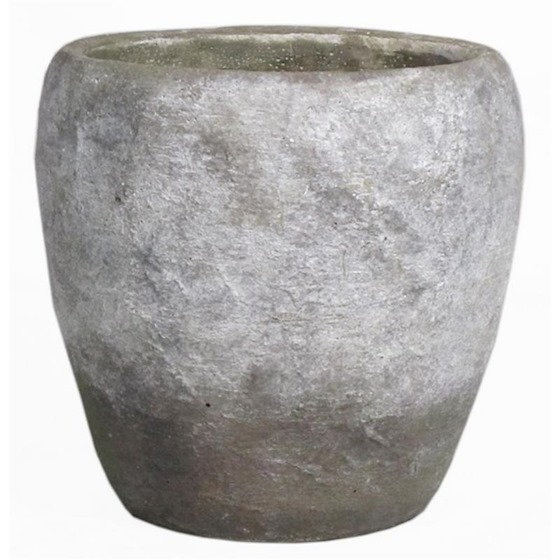 Pot Oman D11 H9cm oud wit es/9