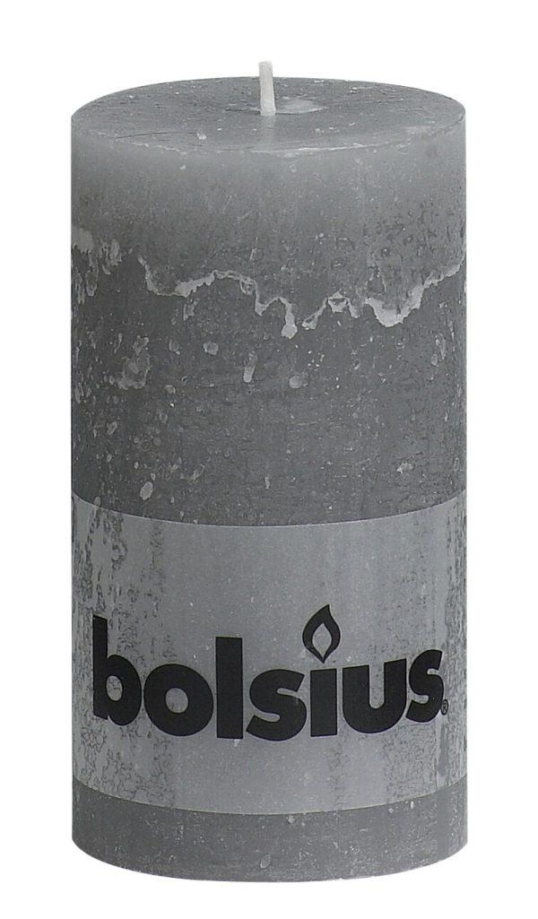 Rustiek stomp 13x7cm licht grijs