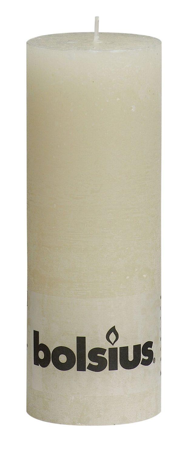 Rustiek stomp 19x7cm ivoor