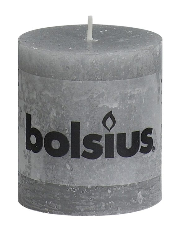 Stompkaars licht grijs 80/68 rustic
