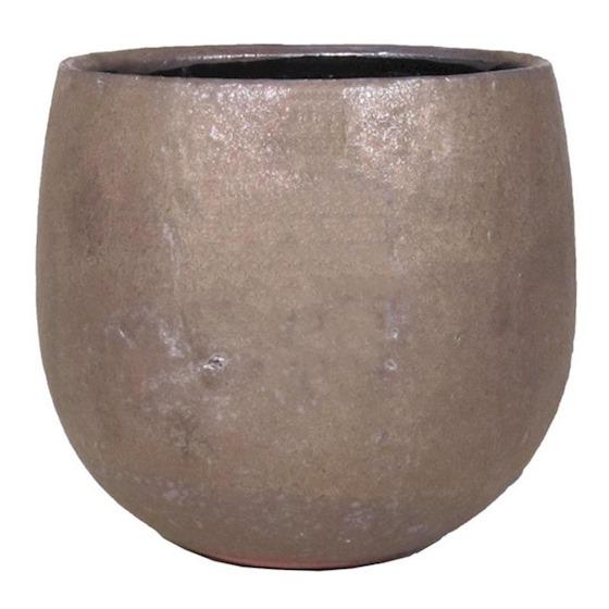 pot Jemen 12x10.5CM Brons