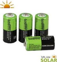 4x600Mah NimH batterij type 2/3AA