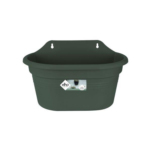 Gb wall basket 30cm leaf green