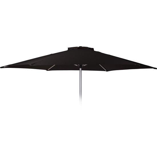 Parasol d270cm zwart aluminium