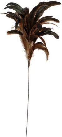 Veren 30cm op draad naturel