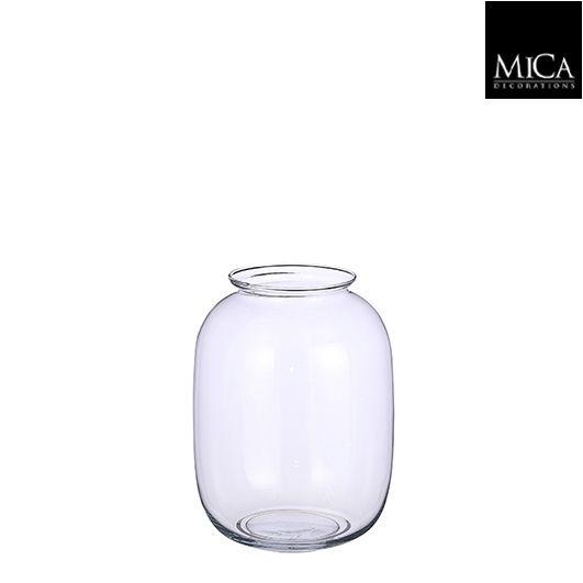Amy vase glass - h25xd19cm