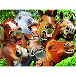 Livelife kaart 3D Gekke Paarden