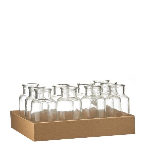 Skipp Fles glas H16 D8