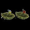 Bladvormig vogelbad