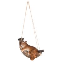 Eekhoorn in hangmat
