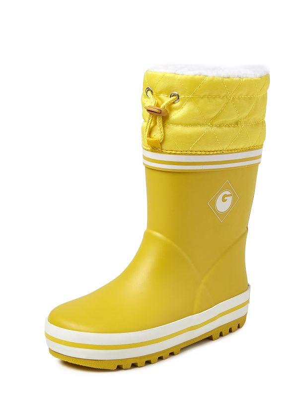 Groovy Rub Winterlaars geel 34